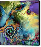 Birth Of A Star Canvas Print by Ursula Freer