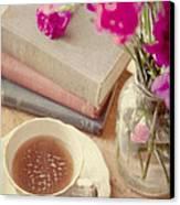Birthday Tea Time Canvas Print by Toni Hopper