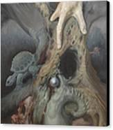 Birthing Tree. Canvas Print by Wayne Evans