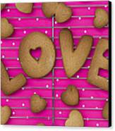 Biscuit Love Canvas Print by Tim Gainey