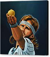 Bjorn Borg Canvas Print by Paul Meijering