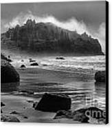 Black And White At Trinidad Canvas Print by Adam Jewell