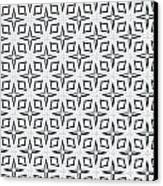 Black And White Designs Canvas Print