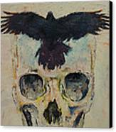 Black Crow Canvas Print