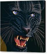 Black Panther 2 Canvas Print by Jurek Zamoyski