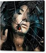 Black Widow Canvas Print by Gun Legler