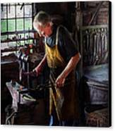 Blacksmith - Starting With A Bang  Canvas Print by Mike Savad
