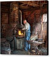 Blacksmith - The Importance Of The Blacksmith Canvas Print by Mike Savad
