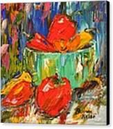Blast Of Color Canvas Print by Barbara Pirkle