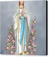 Blessed Virgin Canvas Print