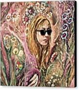 Blind Beauty Canvas Print by Mikhail Savchenko