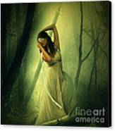 Blindfolded Canvas Print by Ester  Rogers