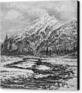 Blizzard Canvas Print by Joseph   Ruff