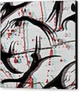 Blood Sweat And Tears  Canvas Print by Kiara Reynolds