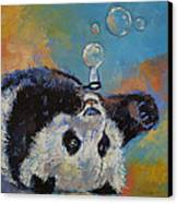 Blowing Bubbles Canvas Print