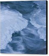 Blue 3                              Canvas Print by Jack Zulli