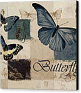 Blue Butterfly - J118118115-01a Canvas Print