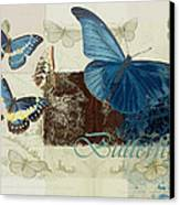 Blue Butterfly - J152164152-01 Canvas Print