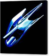 Blue Chrome Jet Canvas Print by Phil 'motography' Clark