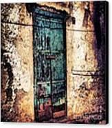Blue Door Canvas Print by H Hoffman