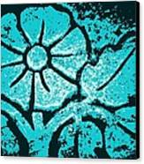 Blue Flower Canvas Print by Chris Berry