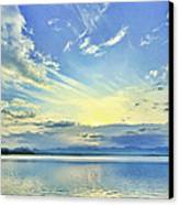 Blue Heaven Canvas Print by Suradej Chuephanich