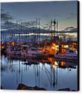 Blue Hour Canvas Print by Randy Hall
