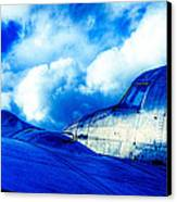 Blue Hudson Canvas Print by motography aka Phil Clark