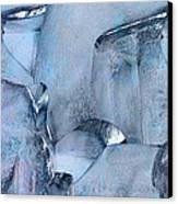 Blue Ice Canvas Print by Jack Zulli
