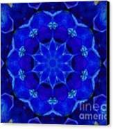 Blue Kaleidoscope  Canvas Print by Annette Allman