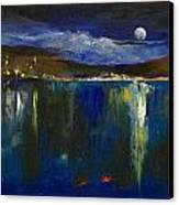 Blue Nocturne Canvas Print by Michael Creese