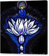 Blue Pearl Canvas Print by Lorah Buchanan