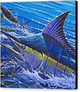 Blue Persuader  Canvas Print