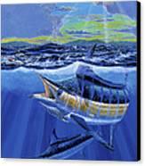 Blue Pitcher Off00115 Canvas Print