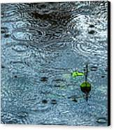 Blue Rain - Featured 3 Canvas Print by Alexander Senin