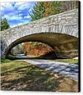 Blue Ridge Bridge Canvas Print by Bob Jackson