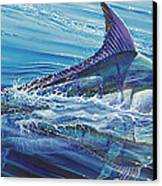 Blue Tranquility Off0051 Canvas Print by Carey Chen