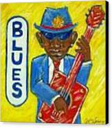 Blues Canvas Print by Aaron Harvey