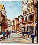 Blumenthals On Craig Street Canvas Print