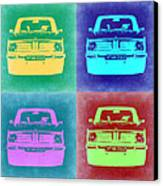 Bmw 2002 Pop Art 1 Canvas Print by Naxart Studio