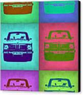 Bmw 2002 Pop Art 2 Canvas Print by Naxart Studio