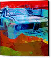 Bmw Laguna Seca Canvas Print