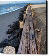 Boardwalk - Charleston Sc Canvas Print by Drew Castelhano