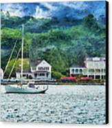 Boat - A Good Day To Sail Canvas Print