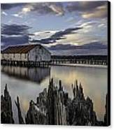 Boat House Canvas Print by Blanca Braun