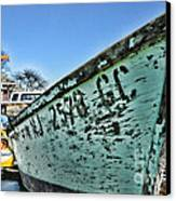 Boat - In A State Of Decay Canvas Print by Paul Ward