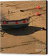 Boat On Beach 04 Canvas Print by Pixel Chimp