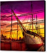 Boat - Sailing - Fleet Week Canvas Print by Mike Savad