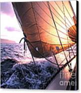 Boats Wing  Canvas Print by Boon Mee