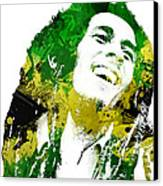 Bob Marley Canvas Print by Mike Maher
